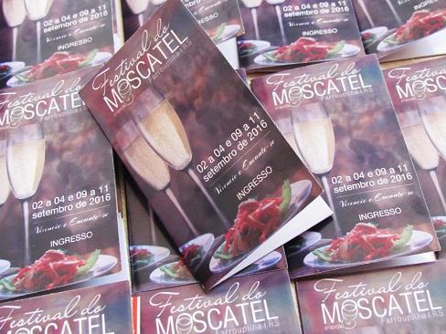 6º Festival Moscatel de Farroupilha de 2 a 11 de Setembro aos finais de semana