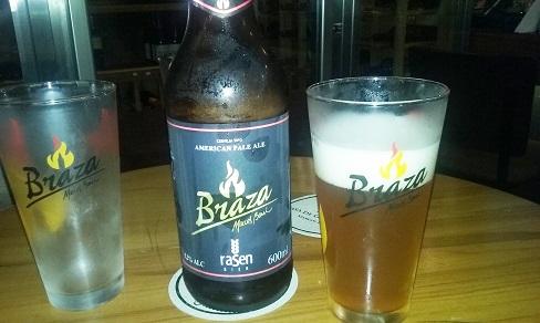 Cerveja Braza para o Templo da Carne e Casa de Grelhados Marcos Bassi