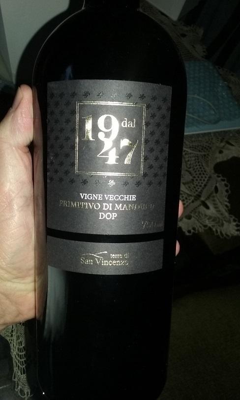 Celso La Pastina e Luciano Ercolino lançam vinho Dal 1947 Primitivo de Manduria DOP em homenagem ao ano de fundação da La Pastina.