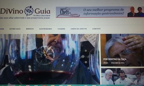 Nova aparência da página www.divinoguiua.com.br em breve no ar.