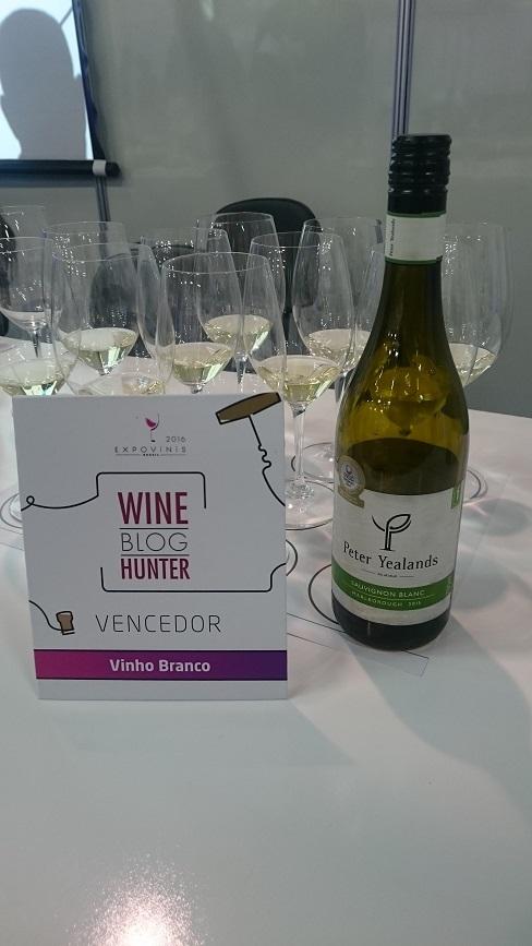 Vencedor vinho branco Wine Blog Hunter