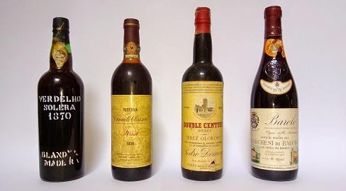 Vinhos especiais que degustei:Verdelho Solera 1870-Chianti Classico Riserva Duilio Fossi 1959-Jerez Oloroso Pedro Domecq Doble Century 1930 e Barolo Vigna Della Sarmassa DOC 1978.