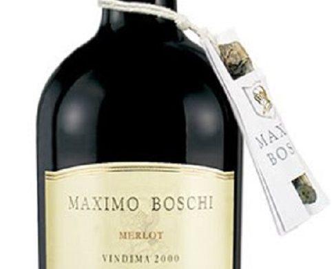 Vinho Maximo Boschi Merlot 2000 que degustei pela primeira vez em 2008