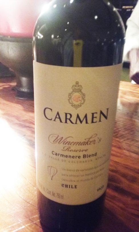 Winemaker's Reserve Carménère Blend 2009