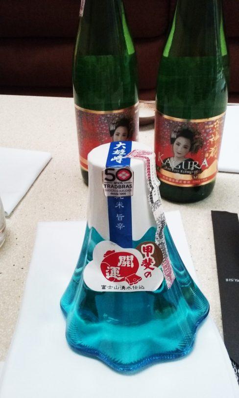 Saquê Fujinobin do tipo Super Premium Junmai-meu favorito