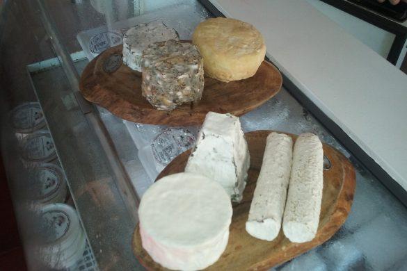 Capril do Bosque e alguns dos queijos