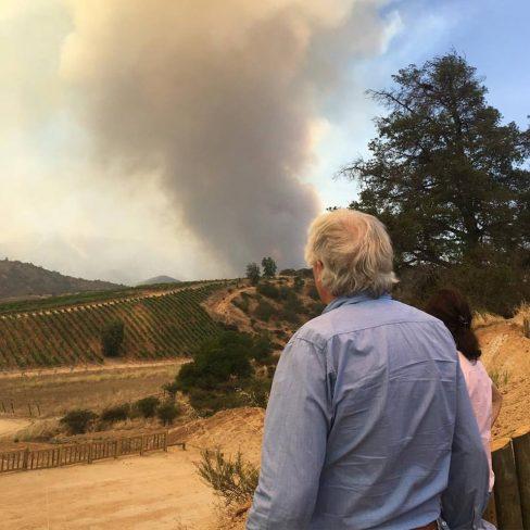 Incêndio devastador-crédito Villard Fine Wines