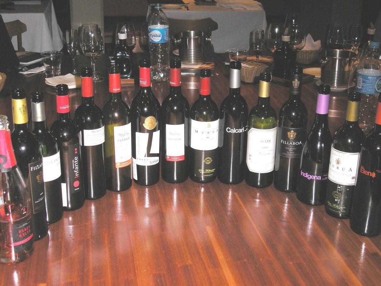 Degustação Porto Mediterrâneo-15 vinhos