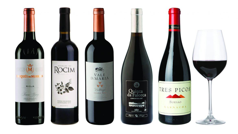 Alguns dos vinhos World Wine Experience