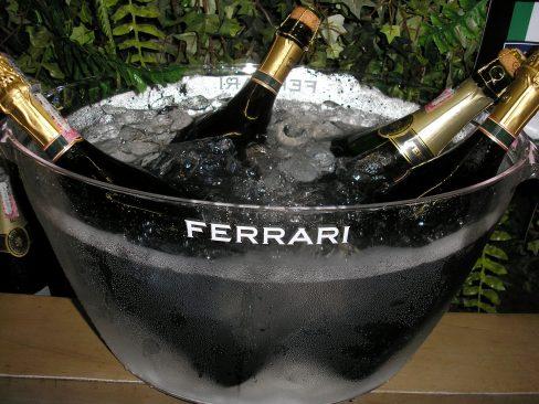 Espumantes Ferrari no Brasil