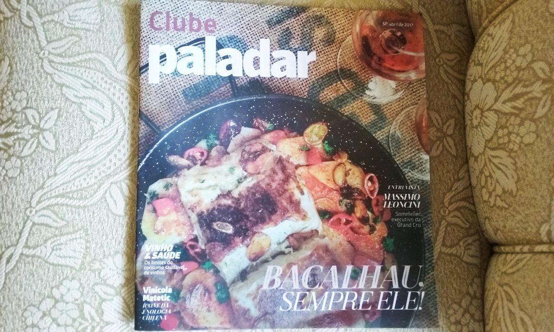 Tablóide Clube Paladar nº1