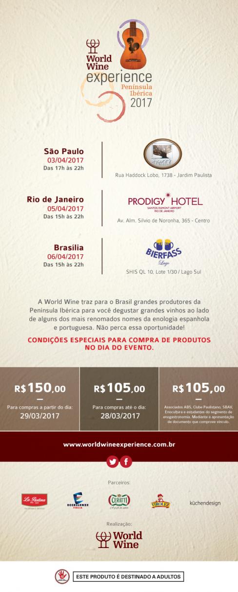 World Wine Experience Penísula Ibérica-divulgação