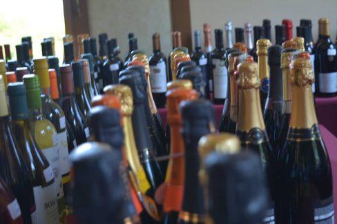 Vinhos e espumantes em recente concurso-divulgação