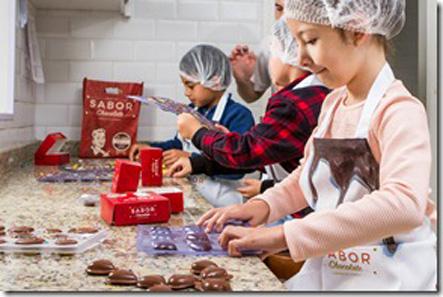 Aula Fábrica da Sabor Chocolate-divulgação