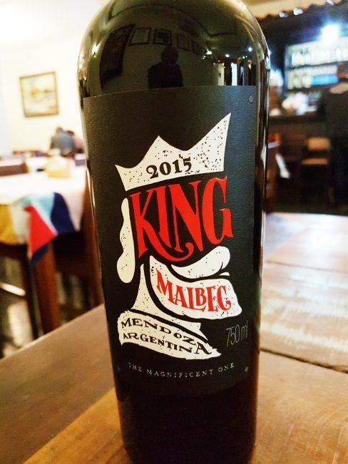King Malbec 2015 da vinícola Norton