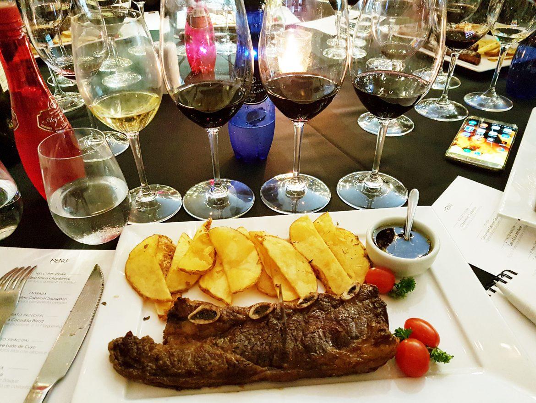 Assado de Tira e os vinhos