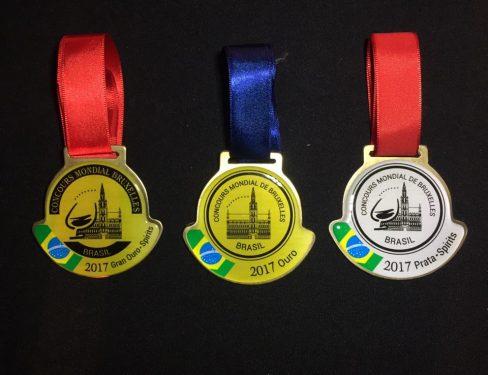 Medalhas Gran Ouro-Ouro e Prata do CMB-Paulo Greca